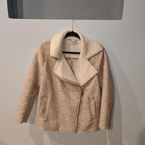 H&M zipper coat